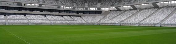 La pelouse du Nouveau Stade de Bordeaux (WS/Rue89 Bordeaux)