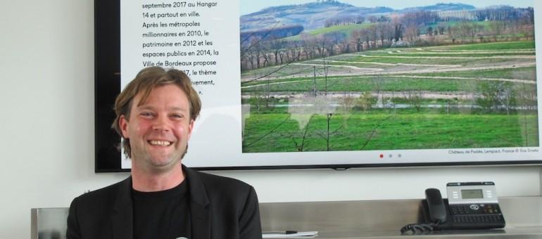 Le paysage thème d'Agora 2017, Bas Smets commissaire