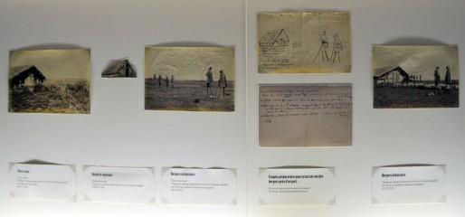 Notes, croquis et montages dans les carnets de Félix Arnaudin (XR/Rue89 Bordeaux)