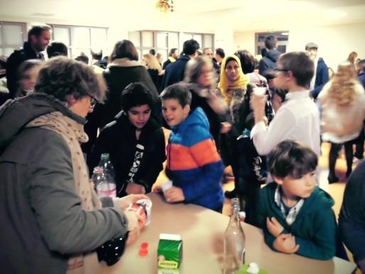 Une vie sociale riche assure les liens entre les élèves, leurs familles et l'équipe de Chlistène (DR)