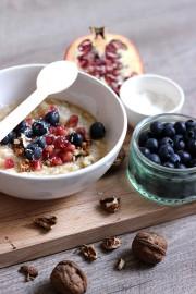 Le porridge au lait de coco made home est devenu le nouveau petit déjeuner d'Anne-Laure.