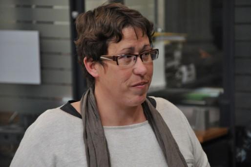 Marie-Lys Bibeyran à la Cour d'appel de Bordeaux le 16 avril 2015 (Xavier Ridon/Rue89 Bordeaux)