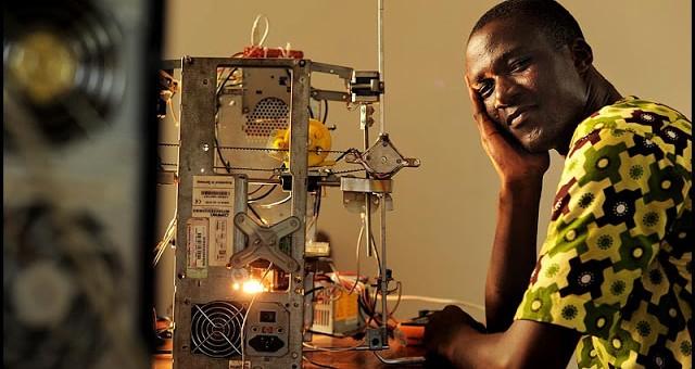 100% recyclée, une imprimante 3D africaine présentée à Bordeaux