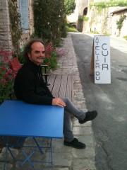 Eric Crozet, artisan du cuir