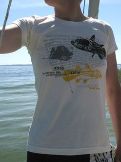 T-shirt équitable Dykkeren, fabriqué au Brésil (DR)