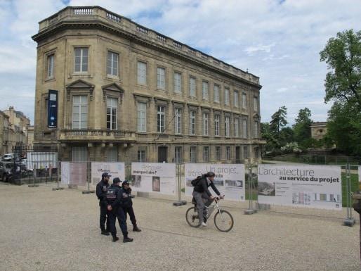 L'hôtel de Lisleferme ouvrira ses portes au public fin 2017 (SB/Rue89 Bordeaux)
