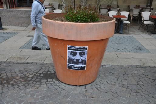 Bordeaux - Affiche de la manifestation contre Eric Zemmour