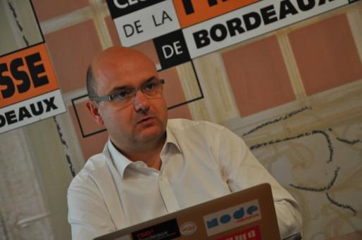 François Moraud, co-fondateur d'Aquinum (Xavier Ridon/Rue89 Bordeaux)