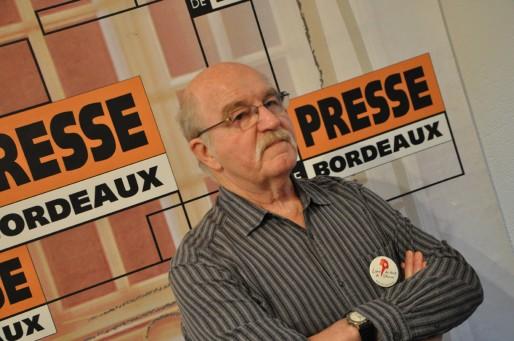 Patrick Lecoq, membre de la Ligue des Droits de L'Homme (XR/Rue89 Bordeaux)