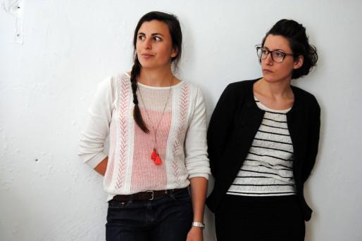 Mareva Lequertier et Camille Pauron de l'agence Archireva (WS/Rue89 Bordeaux)