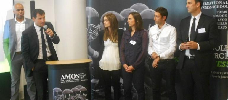 A Bordeaux, AMOS fait école dans le sport business