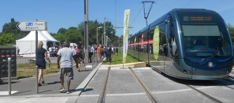 Le tram B fait son nid à Pessac Alouette