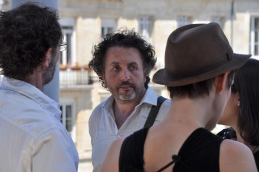 Avec Eric Cron, Sylvain Mavel a réalisé le documentaire Chakaraka (Xavier Ridon/Rue89Bordeaux)