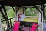 Cabane dans les arbres des Landines ouverte sur la nature (WS/Rue89 Bordeaux)
