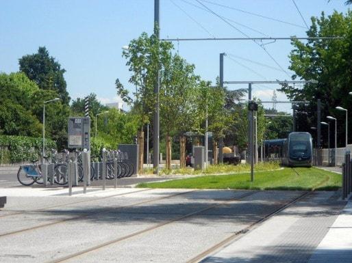 Quatre stations disposent d'un parc VCub. (ML/Rue89 Bordeaux)