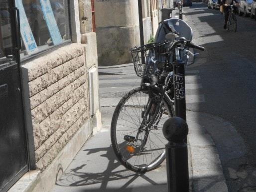 Vélo gênant (ML/Rue89 Bordeaux)