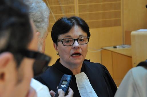 Maître Monique Guedon, avocate du CE et de la CGT Ford (Xavier Ridon/Rue89 Bordeaux)