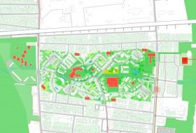 La rénovation devrait rester dans l'esprit de Cité-jardin voulu à sa création. (DR)