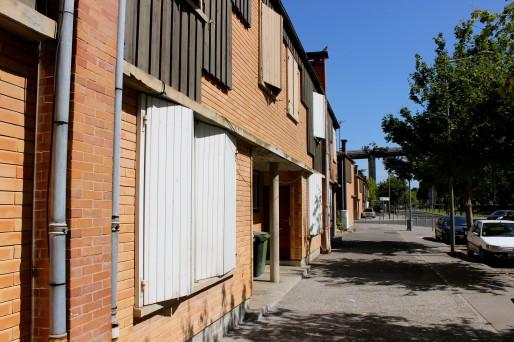 Bâtie dans les années 50, la cité de Claveau sera l'objet de travaux dès la rentrée (AD/Rue89 Bordeaux)