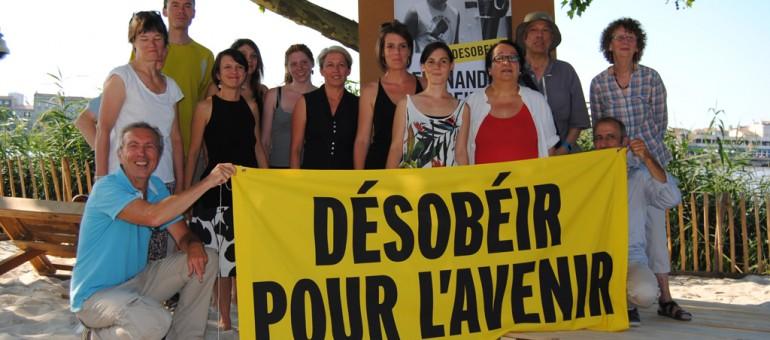 Greenpeace Bordeaux rend hommage à Fernando Pereira