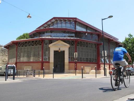 D'inspiration Baltard, le marché a été inauguré en 1886 (SB/Rue89 Bordeaux)