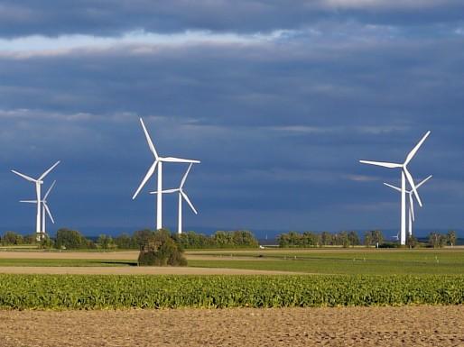 Un parc éolien (PeWi/Flickr)