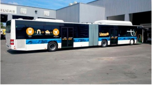 Désormais direct, le trajet entre gare et aéroport se fera dans de nouveaux bus