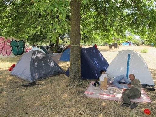 Le campement des réfugiés sahraouis (SB/Rue89 Bordeaux)