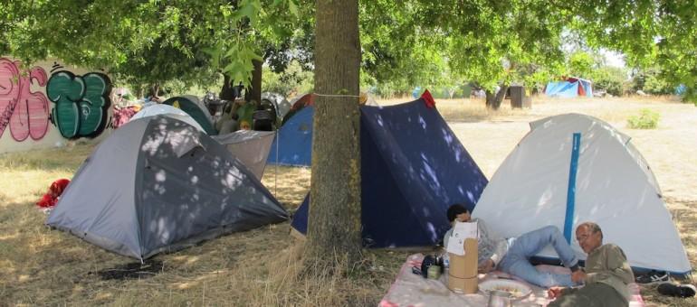 Le camps des Sahraouis, Calais-sur-Garonne