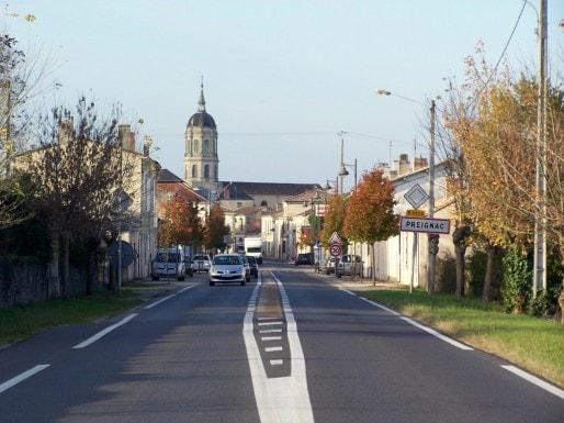 La commune de Preignac en Gironde (Henry Salomé/Wikipedia)