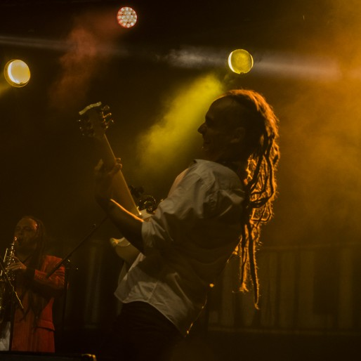 Riké de Sinsemilia au Reggae Sun Ska (Photo : Dominique Clère)