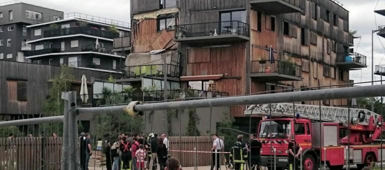 À Ginko le balcon s'effondre, les réactions tombent