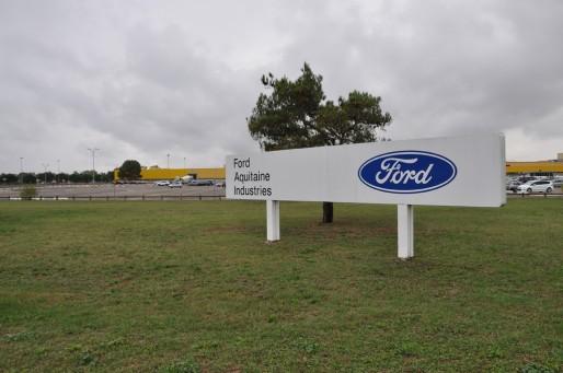 Ford Aquitaine Industries à Blanquefort (Xavier Ridon/ Rue89 Bordeaux)