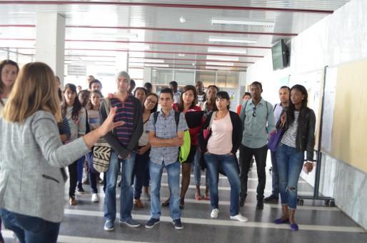 Journée d'accueil des étudiants étrangers du campus de Pessac (MTN/Rue89 Bordeaux)