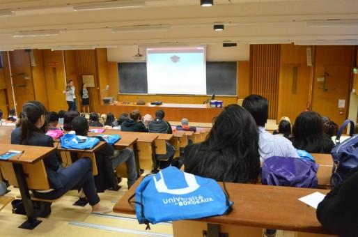 Journée d'accueil des étudiants étrangers au campus de Pessac (MTN/Rue89 Bordeaux)