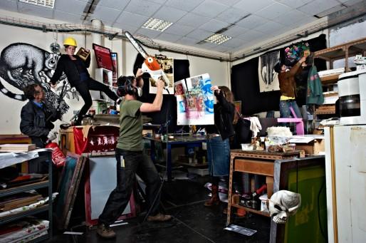 La Fabrique Pola accueille 19 structures et 7 artistes résidents (Anne-Cécile Parades)