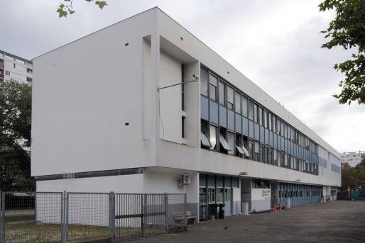 Un ancien bâtiment du groupe scolaire Condorcet se transforme en ateliers d'artistes (WS/Rue89 Bordeaux)
