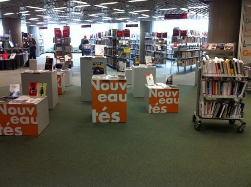 A la bibliothèque Mériadeck (Charlotte Hénard/flickr/CC)