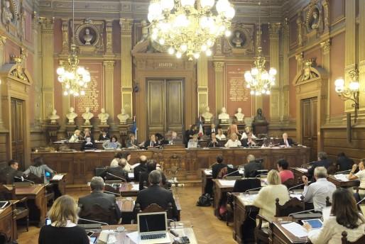 La salle du conseil municipal (SB/Rue89 Bordeaux)