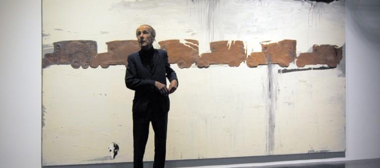 Enzo Cucchi retrouve au Capc la «philosophie» de son œuvre restaurée