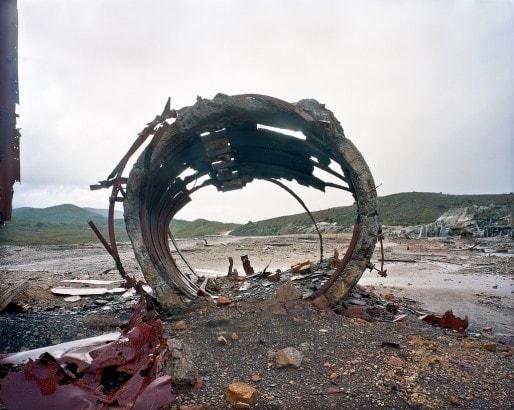Les ruines d'une mine en Tasmanie (Gary Sauer-Thomson/flickr/CC)