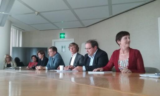 Les élus Modem et Les Républicains, ce lundi 14 septembre au conseil régional (SB/Rue89 Bordeaux)