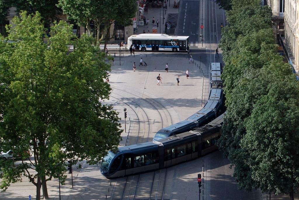 Carte Tram Bordeaux Demandeur Demploi.En 2016 Tbc Sur Sa Lancee Rue89 Bordeaux