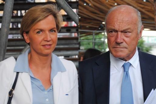 Virginie Calmels et Alain Rousset s'accusent d'enchaîner les canards (WS/Rue89 Bordeaux)