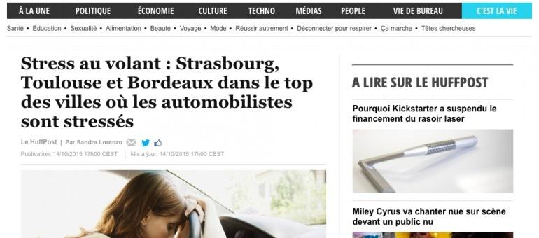 Bordeaux, 3e ville de France où les automobilistes sont stressés