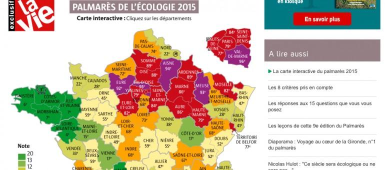La Gironde, championne de l'écologie en France