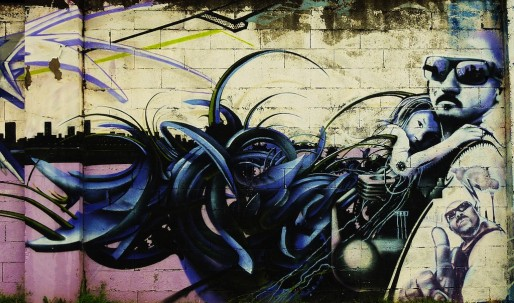 Graffiti à Bacalan (Thierry Llansades/flickr/CC)