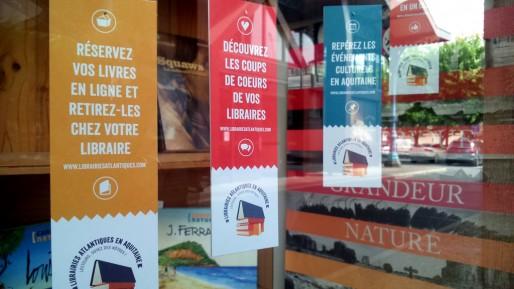 Le site librairiesatlantiques.com,nouvelle porte d'entrée dans les librairies indépendantes en Aquitaine (Sara Gazhali)