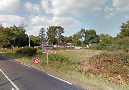 Le Pian-Médoc, une commune de 6000 habitants avec 8,6 % de logements sociaux (Google street)