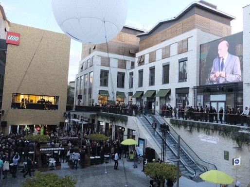 Pour Alain Juppé, la promenade va contribuer à l'attractivité de Bordeaux (SB/Rue89 Bordeaux)